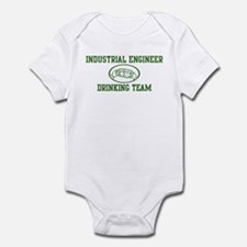 Industrial Engineer Drinking  Infant Bodysuit