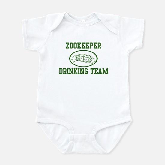 Zookeeper Drinking Team Infant Bodysuit