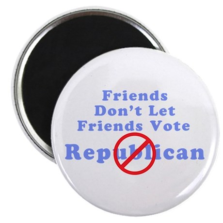 "Friends Don't Let Friends 2.25"" Magnet (100 pack)"