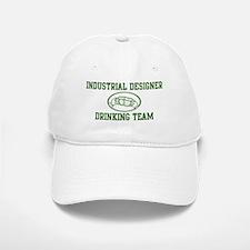 Industrial Designer Drinking Baseball Baseball Cap