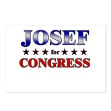 JOSEF for congress Postcards (Package of 8)