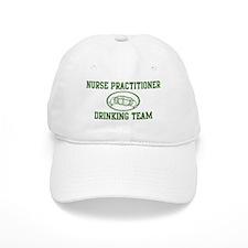 Nurse Practitioner Drinking T Baseball Cap
