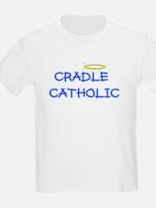 cradle catholic boy logo copy T-Shirt