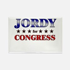 JORDY for congress Rectangle Magnet