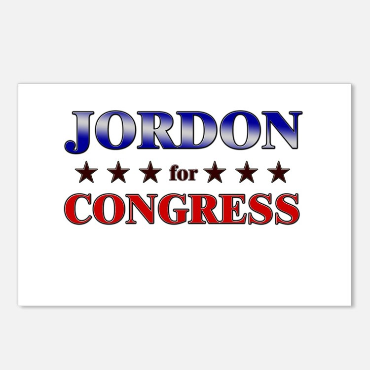 JORDON for congress Postcards (Package of 8)