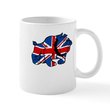 British Bulldog Union Jack Mug