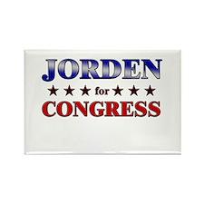 JORDEN for congress Rectangle Magnet