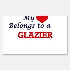 My heart belongs to a Glazier Decal
