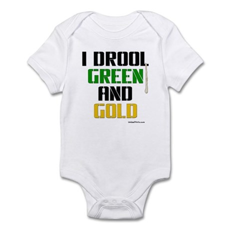 GREEN AND GOLD (Boston) Infant Bodysuit