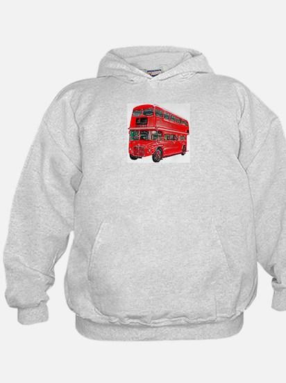 Red London Bus Hoodie