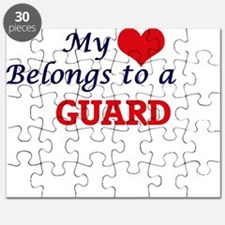 My heart belongs to a Guard Puzzle