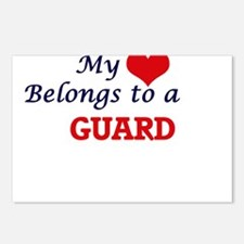 My heart belongs to a Gua Postcards (Package of 8)