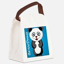Cute Panda bear lunch Canvas Lunch Bag