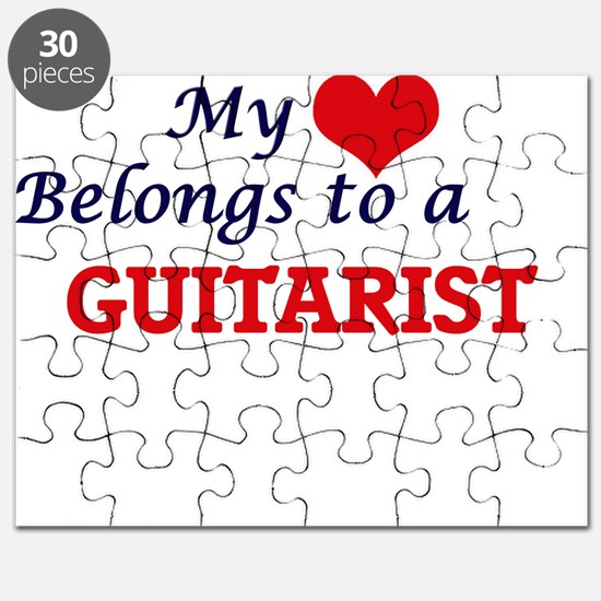 My heart belongs to a Guitarist Puzzle