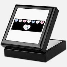 heart corsica1 Keepsake Box
