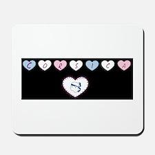 heart corsica1 Mousepad