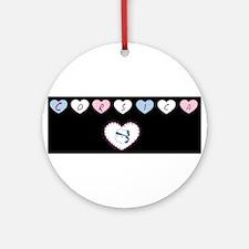heart corsica1 Ornament (Round)