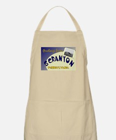 Greetings From Scranton BBQ Apron