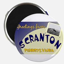 Greetings From Scranton Magnet