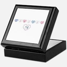 heart corsica3 Keepsake Box