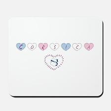 heart corsica3 Mousepad