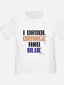 ORANGE AND BLUE (Den) T