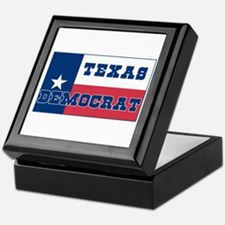 Texas Democrat Keepsake Box