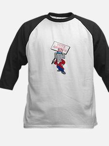 Republican Elephant Mascot Vote America Cartoon Ba