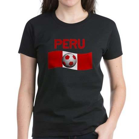 TEAM PERU Women's Dark T-Shirt