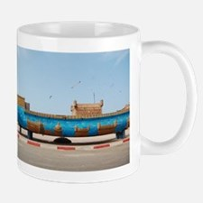 Essaouria boat Mugs