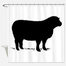 Sheep Shower Curtain