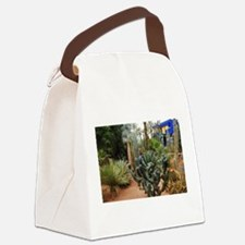 Cactii garden Canvas Lunch Bag