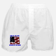 FREE AND BRAVE Boxer Shorts