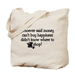 Money Happiness Tote Bag