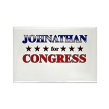 JOHNATHAN for congress Rectangle Magnet