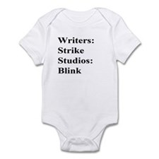 Writers Strike Infant Bodysuit