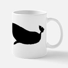 Whale Silhouette Mugs