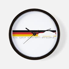 "911 ""No Substitute."" Wall Clock"