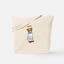 Jack Russell - Angel - Tote Bag