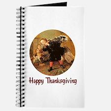 Boy and Thanksgiving Turkey Journal