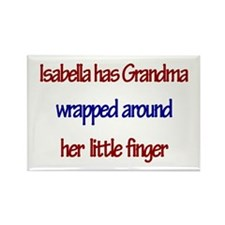 Isabella - Grandma Wrapped Ar Rectangle Magnet