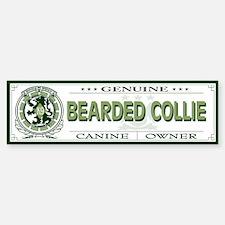 BEARDED COLLIE Bumper Bumper Bumper Sticker