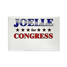 JOELLE for congress Rectangle Magnet (10 pack)