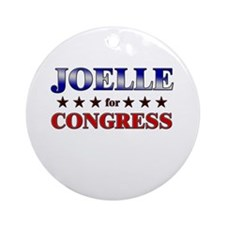 JOELLE for congress Ornament (Round)