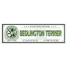 BEDLINGTON TERRIER Bumper Bumper Sticker