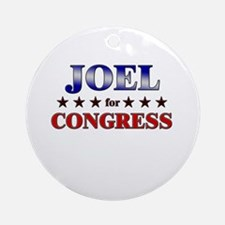 JOEL for congress Ornament (Round)