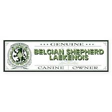 BELGIAN SHEPHERD LAEKENOIS Bumper Bumper Sticker