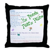 Boy Tooth Fairy Pillow