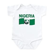 TEAM NIGERIA Infant Bodysuit