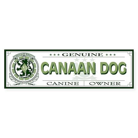 CANAAN DOG Bumper Sticker